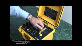 AEMC 6250 10A Micro-Ohmmeter w/ Ed Cunnie