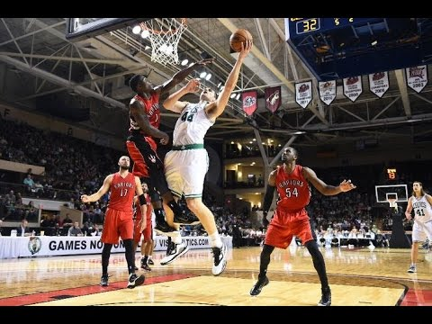 Tyler Zeller 13 points,3 blocks vs Toronto Raptors 10/15/2014 - Full Highlights - [HD]