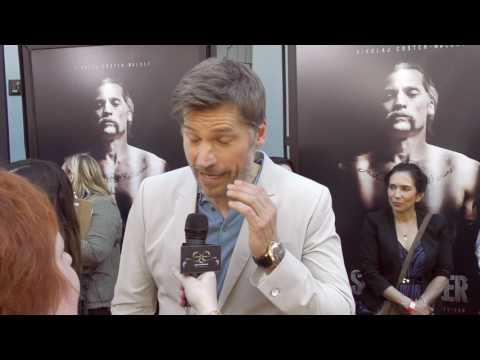 2017 Los Angeles Film Festival   Carpet Chat with Nikolaj CosterWaldau