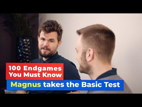 Magnus Carlsen Takes The 100 Endgames Test!