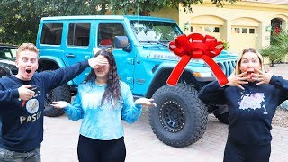 We Gave Ameerah A FAKE JEEP then BOUGHT HER A REAL ONE!