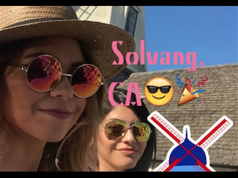 Solvang, CA and Santa Barbara Mini Road Trip! Yay!
