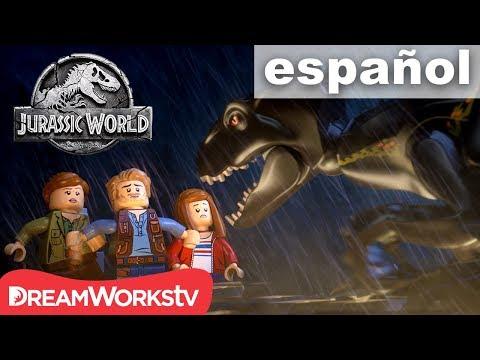 Escapa del Indoraptor | LEGO JURASSIC WORLD