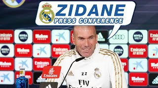 LIVE | Zidane's press conference before Real Madrid vs Real Sociedad
