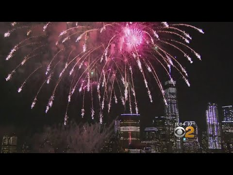 Jersey City Fireworks A Success In Exchange Place