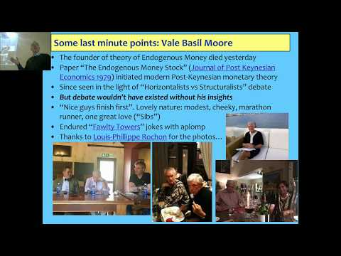 Lecture 07/08 Endogenous Money & a tribute to Basil Moore