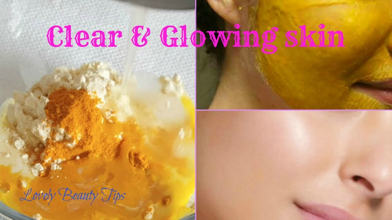 Diy Face Mask For Clear Glowing Skin Natural With Home Remedies Beauty Tips Youtube