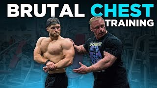 Super HIGH VOLUME CHEST Training with The Mountain Dog (Brutal!)