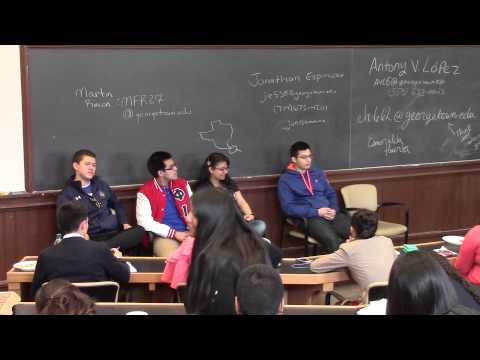 Ivy League Projects visit Georgetown 2014