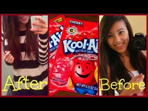 Dye Your Hair With KOOL AID?!?!?! (All Hair) 2013