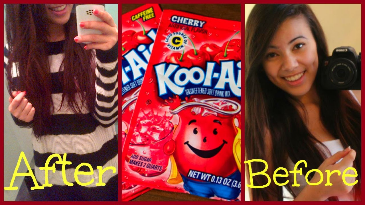 Dye your hair with kool aid all hair 2013 youtube geenschuldenfo Image collections