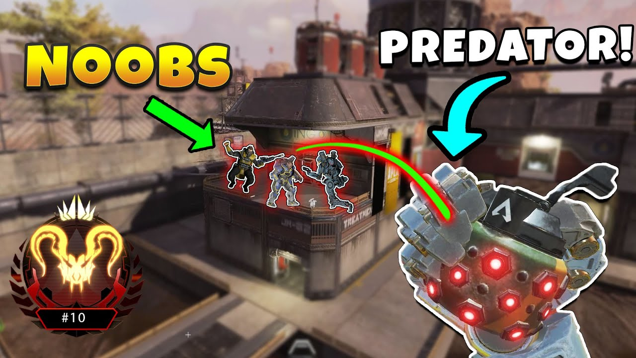 *NEW* PERFECT PREDATOR NADE! - NEW Apex Legends Funny & Epic Moments #358