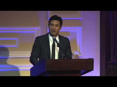 Mario Lopez  accepts The Actors Fund's Looking Ahead Award for Community Service