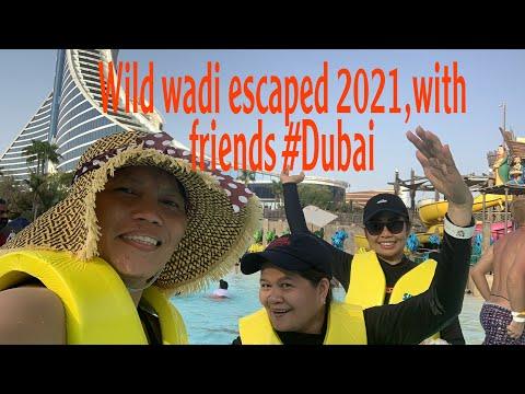 Wild wadi escaped 2021,with friends #Dubai