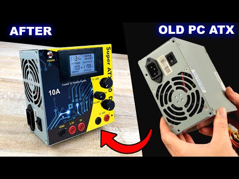 ATX PC - DON' T THROW THAT AWAY!!! here is a BIG idea