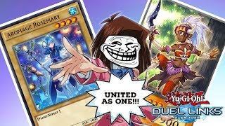 [Yu-Gi-Oh! Duel Links] Aromage and Amazoness United as One (With Random Funny SFX)
