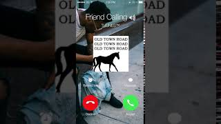 All-you-need official tuunes™ app: https://itunes.apple.com/app/id1177574580 or just the iphone ringtone: https://itunes.apple.com/album/old-town-road-marimb...