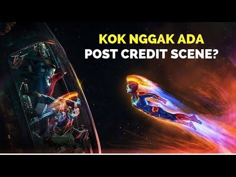 Penjelasan Mengapa Tidak Ada Post Credit Scene Di Avengers Endgame | Part 1
