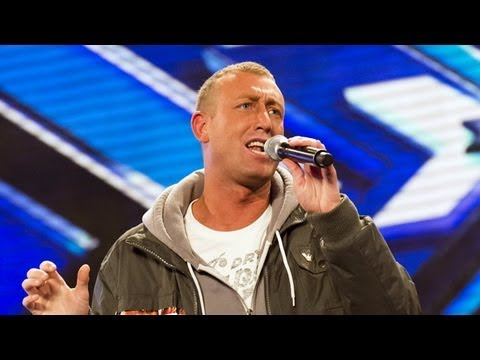 Christopher Maloney's audition  Bette Midler's The Rose  The X Factor UK 2012