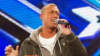 Christopher Maloney\'s audition - Bette Midler\'s The Rose - The X Factor UK 2012