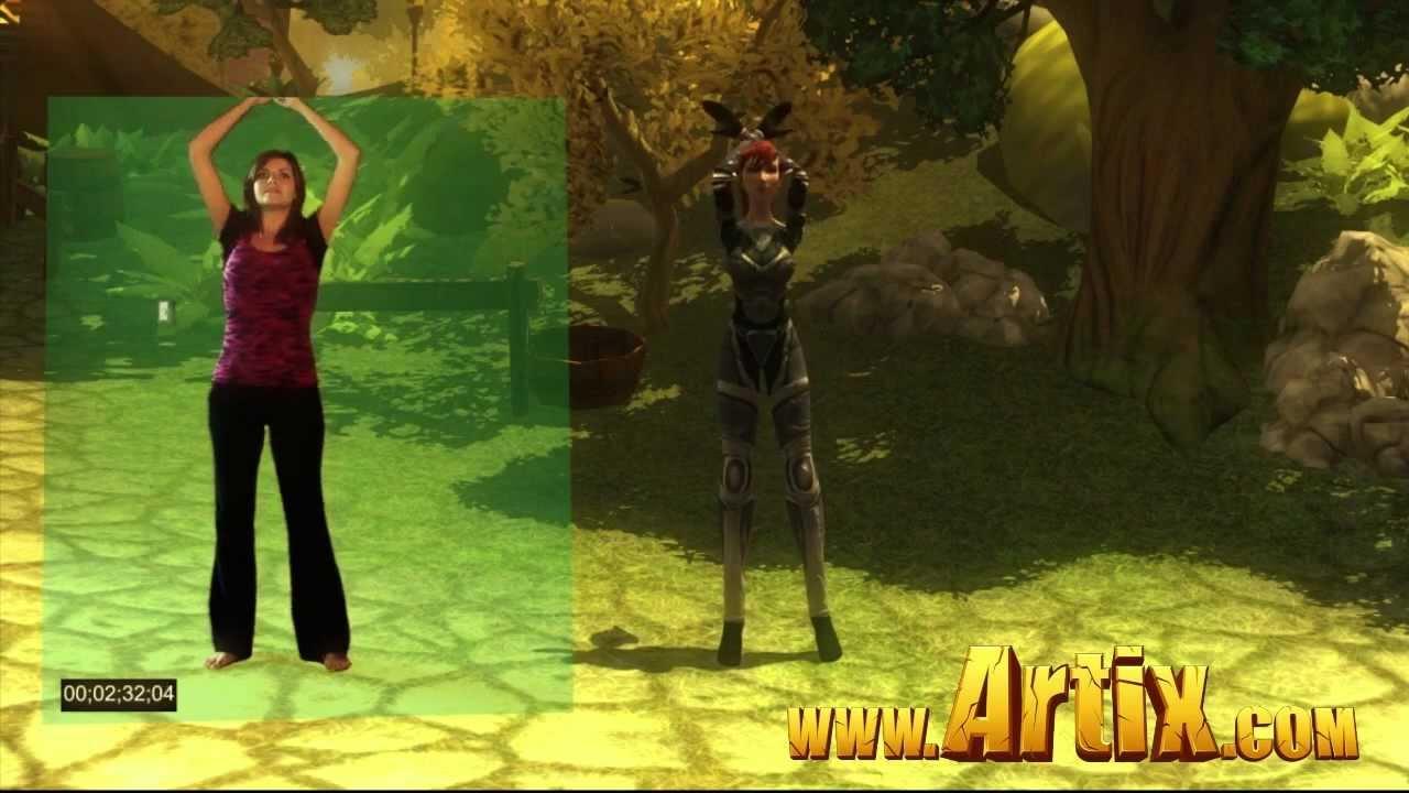 Beleen's AdventureQuest 3D Motion Capture Test