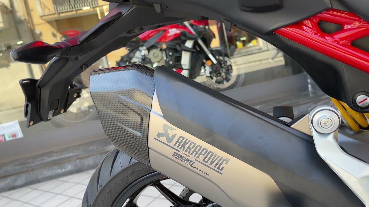 Ducati multistrada V4s radar akrapovic completo
