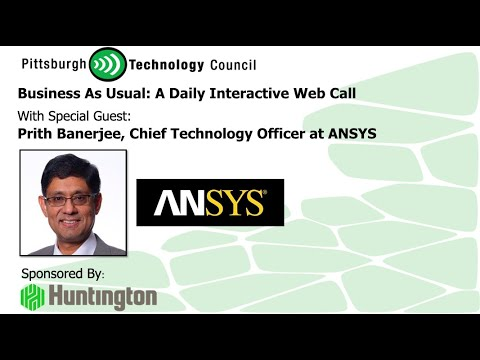ANSYS Chief Technology Officer Goes Live on Business as Usual