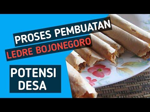 Beginilah Proses Pembuatan Ledre Sedahkidul - Ledre Bojonegoro