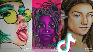 Beautiful Tik Tok Art That Highlighted My Day ❤️🎨✨