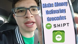 How to Make Money Fast   My First Time Shipt Shopping *reliable income