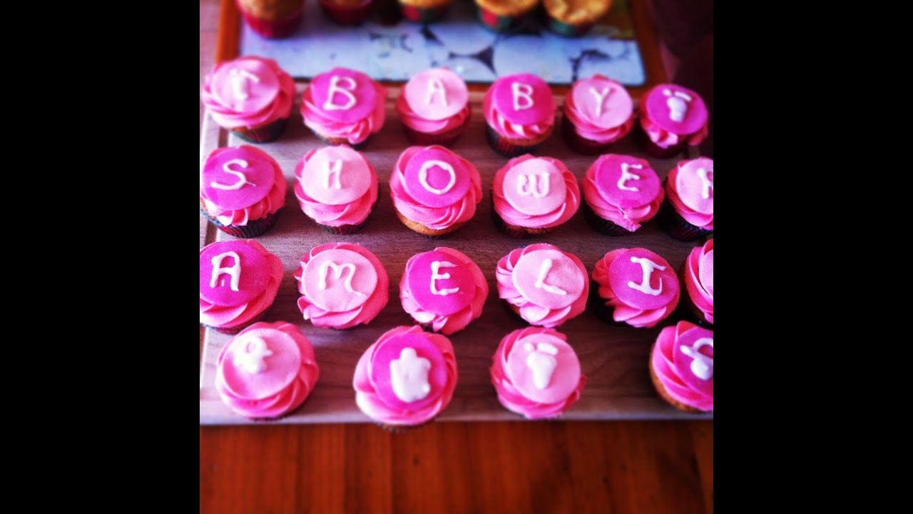 Decoraci³n Cupcakes Baby Shower