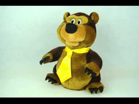 Singing and dancing musical toy SHANGHAI BEAR (SDZ05)