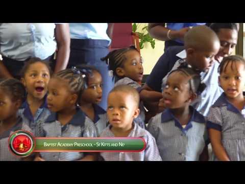 Baptist Academy Pre-school Christmas Carollers