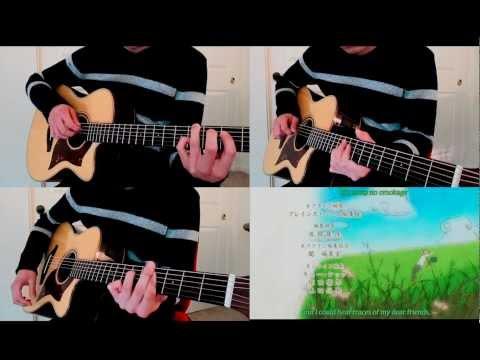 Natsume Yuujinchou (夏目友人帳) ED1 - Natsu Yuuzora / 夏夕空 (Acoustic guitar cover)