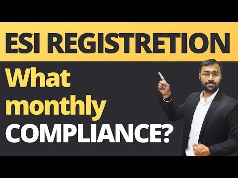 ESI Establishment Registration Online   ESIC Monthly Return