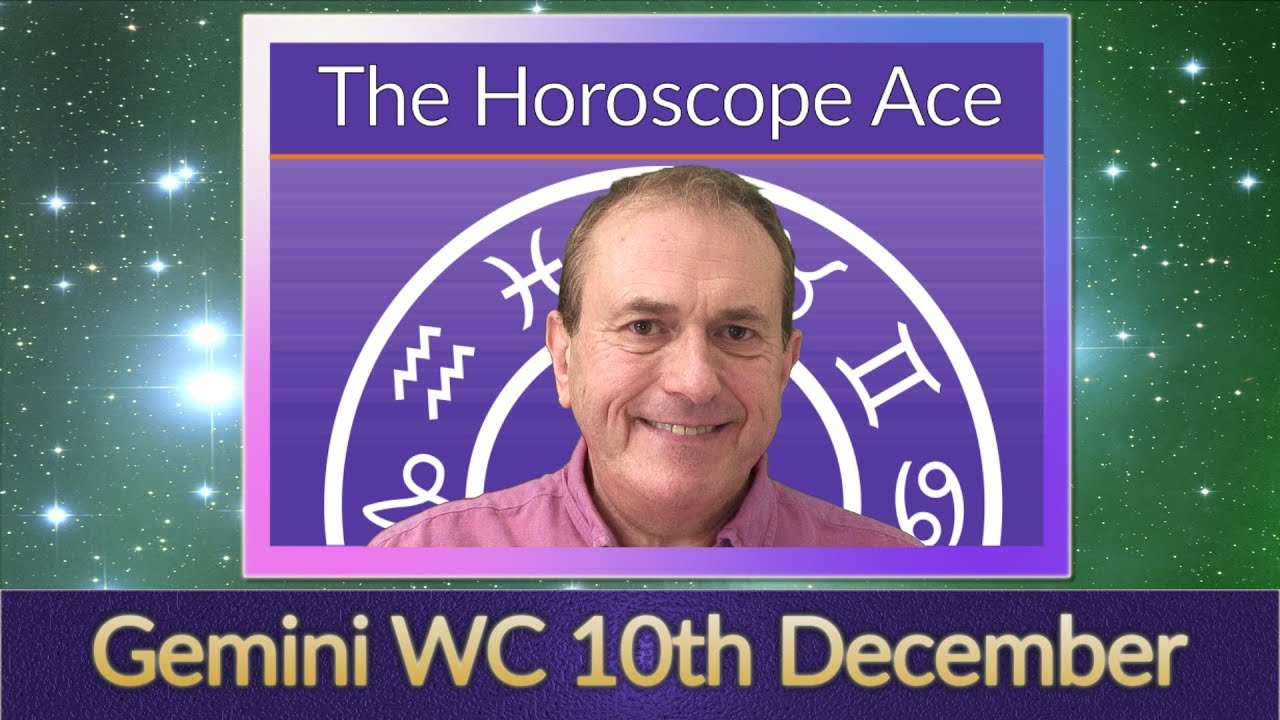 gemini weekly horoscope december 10 2019
