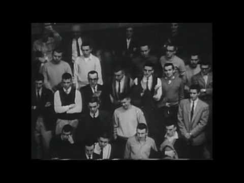 Highlights from the 1958-1959 Mountaineer Basketball Season