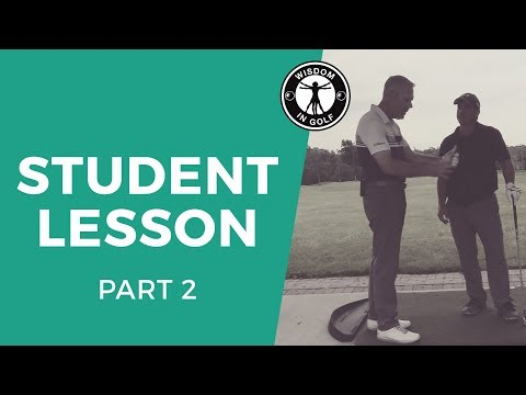 HOW TO GET PRECISE DISTANCE TO BALL!!  | Wisdom in Golf-Shawn Clement
