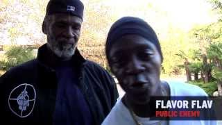 "Flavor Flav Supports ""The Long Road To The Hall of Fame"" : Malik Farrakhan / Tony King Film"