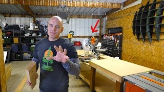 Download What is Enginered Wood? Building a Miter Saw Table! #TeamTrees Mp3 and Videos
