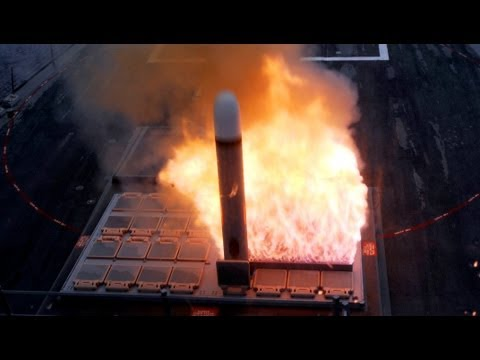 ★ US Navy 2013 ★ Battleships Launch Tomahawk Missile