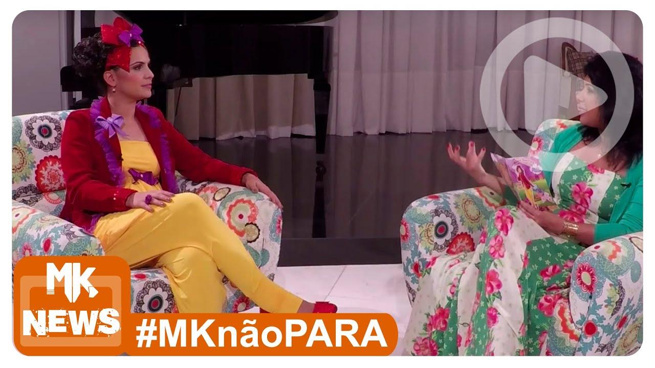 Aline Barros - Bastidores da Entrevista sobre o DVD Tim-Tim Por Tim-Tim - (#MKnãoPARA)