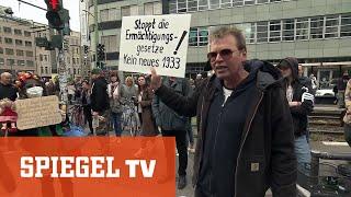 Versammlung der Aluhüte: Demo gegen Corona-Maßnahmen