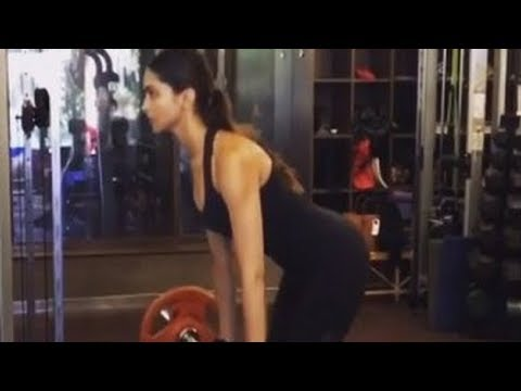 Deepika Padukone Workout For Padmavati