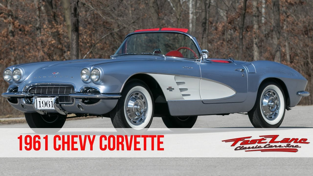 1961 Corvette For Sale >> 1961 Chevrolet Corvette For Sale Youtube
