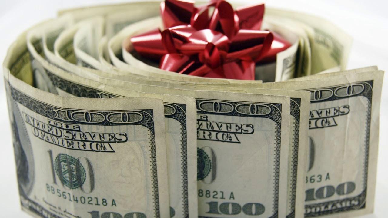 Картинки с долларами и пожелания