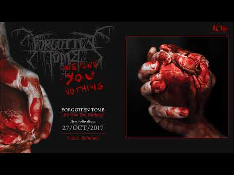 Forgotten Tomb - Saboteur (Official Track Stream)