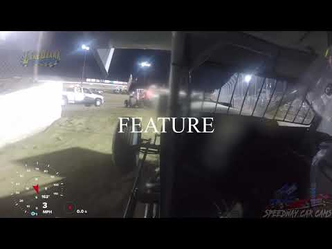 #4 Evan Martin - 360 Sprint - 7-14-19 Lake Ozark Speedway - In Car Camera