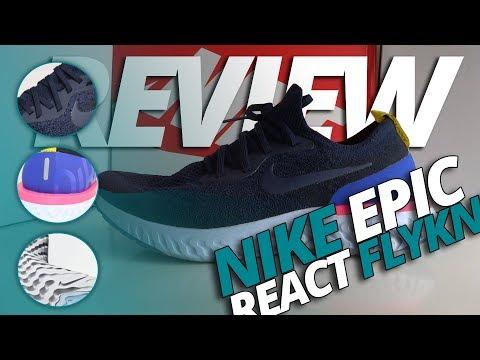 bb9590586205 La Nike Epic React Flyknit viene a ocupar el sitio de la LunarEpic en el  catálogo de Nike pero con una tecnología de amortiguación nueva  REACT.