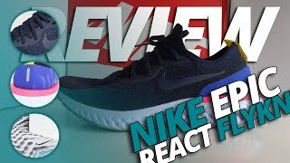 Nike Epic React Flyknit review: ¿prácticamente perfecta?